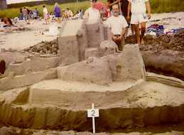 Sand Fortress at Clam Harbour