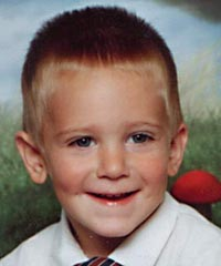 Two Year Old Simon Pye  was lost in the woods