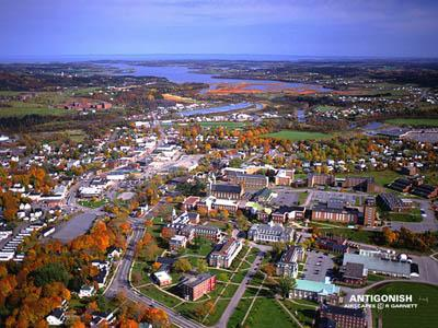 Antigonish Aerial View - Unknown Source